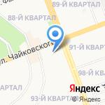Центр оперативной печати на карте Ангарска
