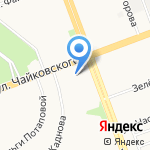 Ультра на карте Ангарска