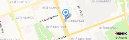 ВОСТСИБСБЕР на карте Ангарска