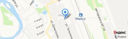 Стиль-Байкал на карте Ангарска