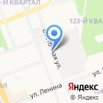 Союз садоводческих некоммерческих товариществ на карте Ангарска