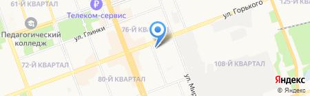 Саша на карте Ангарска