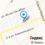 Русско-азиатский экономико-правовой колледж на карте Ангарска