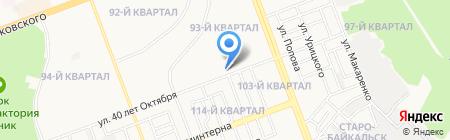 Восток-Сервис-Иркутск на карте Ангарска