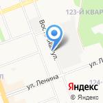 Салвент на карте Ангарска