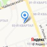 Синетик-Байкал на карте Ангарска