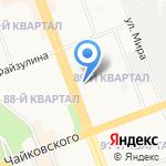ГУ МВД России по Иркутской области на карте Ангарска