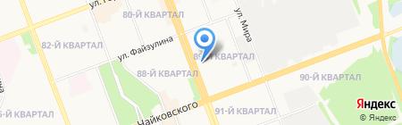 Межрайонный отдел по выявлению преступлений в ТЭК Управление экономической безопасности и противодействия коррупции на карте Ангарска