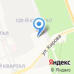 Цитадель на карте Ангарска