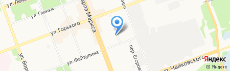 Араусана на карте Ангарска