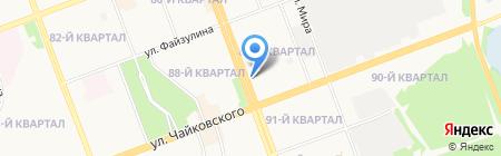 ТРАНСАЭРО ТУРС Иркутск на карте Ангарска