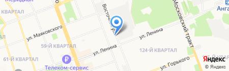 Ангарский отдел лабораторного анализа и технических измерений на карте Ангарска