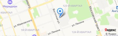 ЛидерАвто на карте Ангарска
