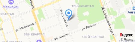 Ратэк на карте Ангарска