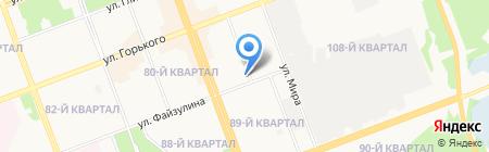 Принтеко на карте Ангарска