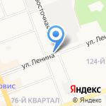 Зоомаркет на карте Ангарска