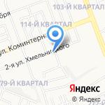 Центральные электрические сети на карте Ангарска