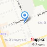 Ангарская городская типография на карте Ангарска