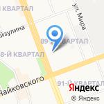 Адвокатский кабинет Шайкова А.М. на карте Ангарска