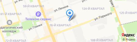 Электрострой на карте Ангарска