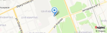 Mega на карте Ангарска