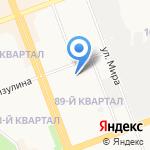 Средняя общеобразовательная школа №24 на карте Ангарска