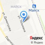 Майск-4 на карте Ангарска