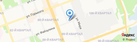 Диверсант на карте Ангарска