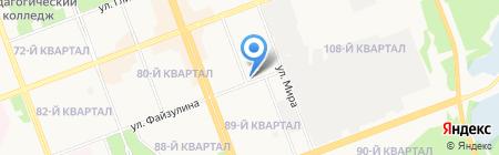 Ангарск Инфо на карте Ангарска