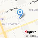 Автомаркет на карте Ангарска
