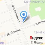 Авангард на карте Ангарска