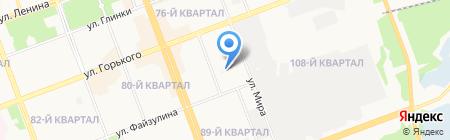 Детская стоматологическая поликлиника на карте Ангарска
