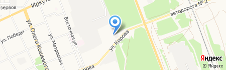 Мега на карте Ангарска