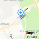 Энергия на карте Ангарска