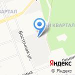 Столярный цех на карте Ангарска