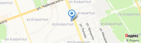 Магазин ритуальных принадлежностей на карте Ангарска