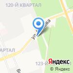 Газомаркет на карте Ангарска