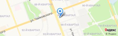 Mon Ami на карте Ангарска