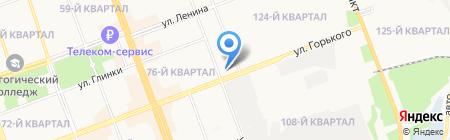 Отдел надзорной деятельности по Ангарскому району на карте Ангарска