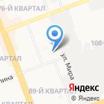 Детский сад №1 на карте Ангарска