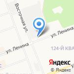 На Ленина на карте Ангарска