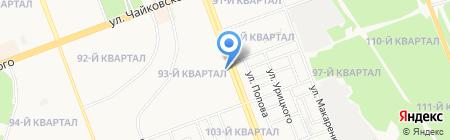 На Байкальской на карте Ангарска