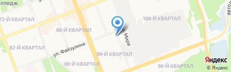 Маргарита на карте Ангарска