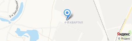 Ангарскцемент на карте Ангарска