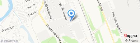 АнгарскСпецСтрой на карте Ангарска