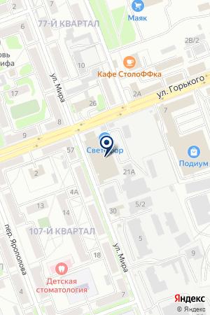 Partner на карте Ангарска