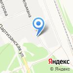 Сибпласт на карте Ангарска