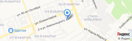 Пожтехсервис на карте Ангарска