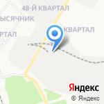 Ферро-Темп на карте Ангарска