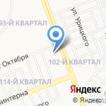 Кадастровая Палата по Иркутской области на карте Ангарска